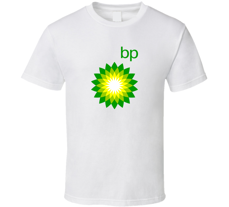 Bp British Petroleum Logo T Shirt