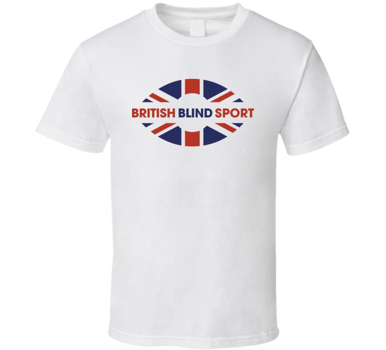 British Blind Sport Logo T Shirt