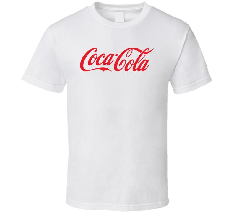 Coca Cola Logo T Shirt