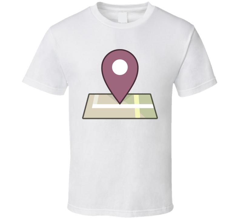 Facebook Places Logo T Shirt
