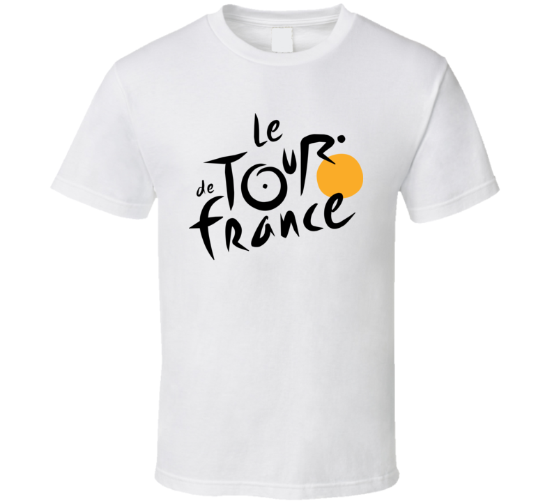 Le Tour De France Logo T Shirt