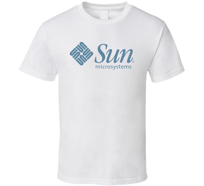 Sun Microsystems Logo T Shirt