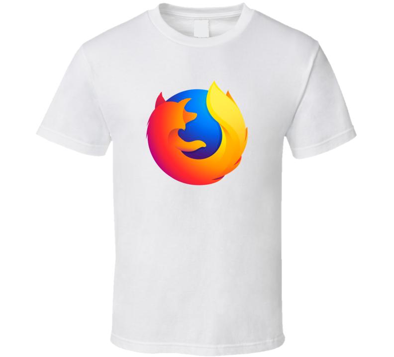 Firefox Logo T Shirt