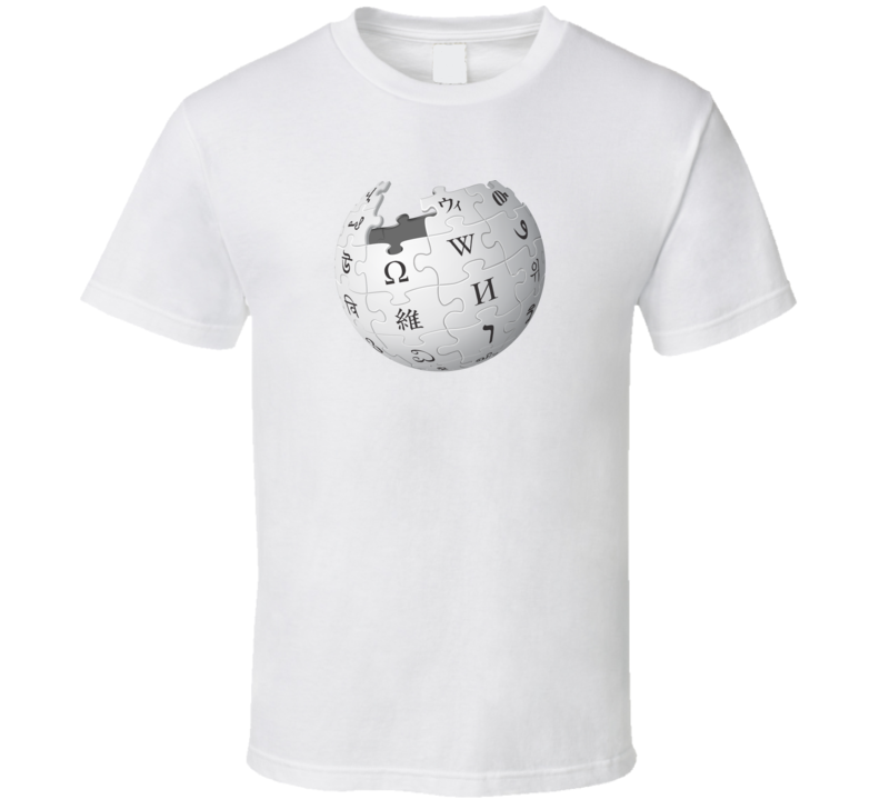 Wikipedia Logo T Shirt