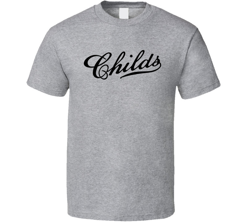 Childs Classic Retro Fast Food Restaurant Logo Fan Foodie Food T Shirt