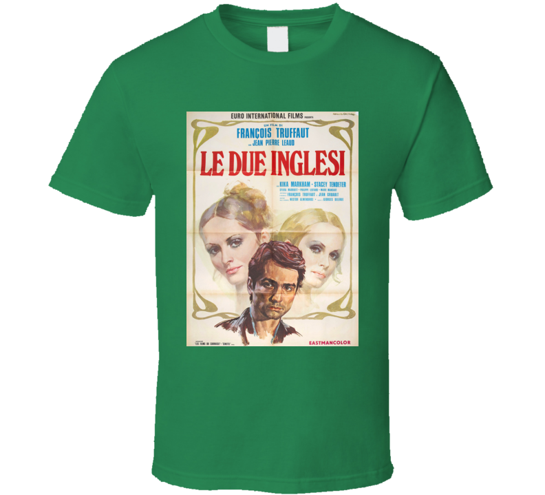 Two English Girls Movie Classic Film Vintage Retro Gift T Shirt