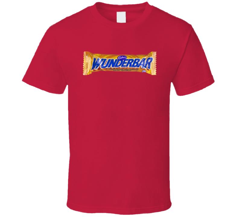 Wunderbar Chocolate Candy Bar Gift Cool T Shirt
