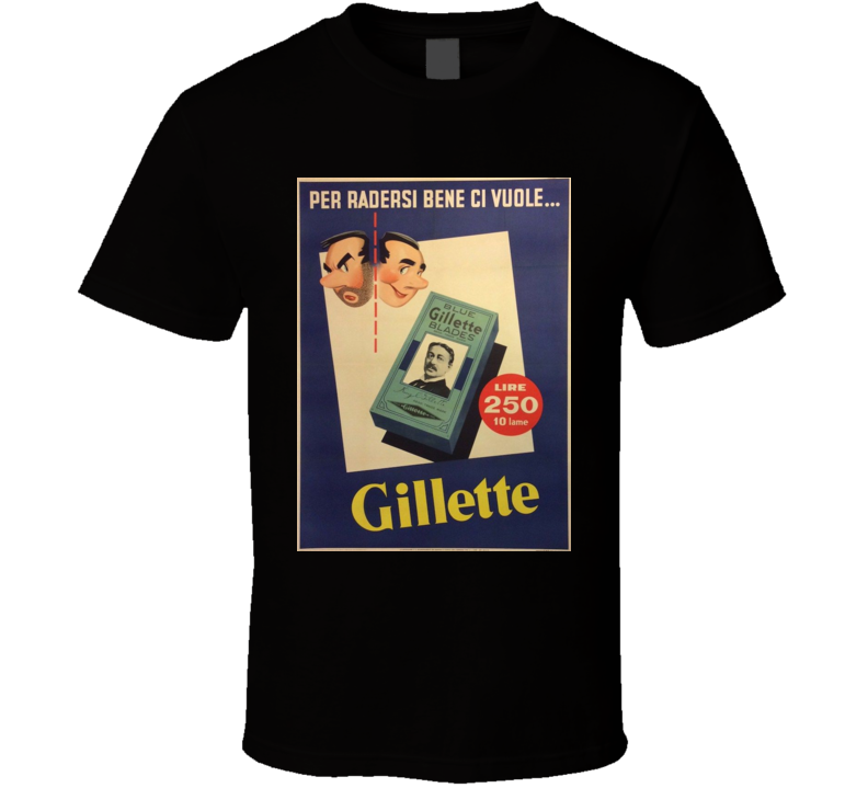 Gillette Classic Cigarette Poster Cool T Shirt