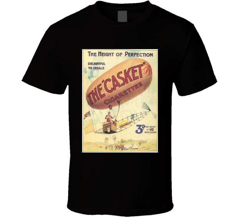 The Casket Cigarettes Classic Cigarette Poster Cool T Shirt