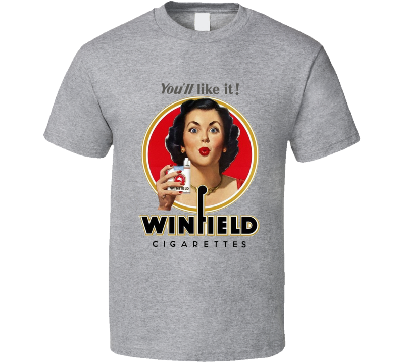 Winfield Classic Cigarette Poster Cool T Shirt