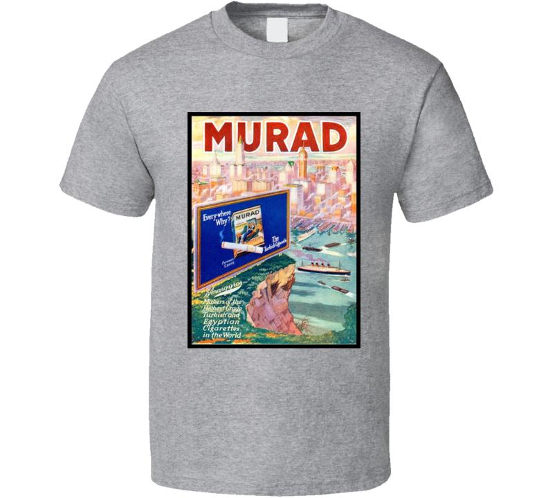 Murad Classic Cigarette Poster Cool T Shirt