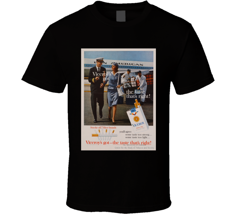 Viceroy Classic Cigarette Poster Cool T Shirt