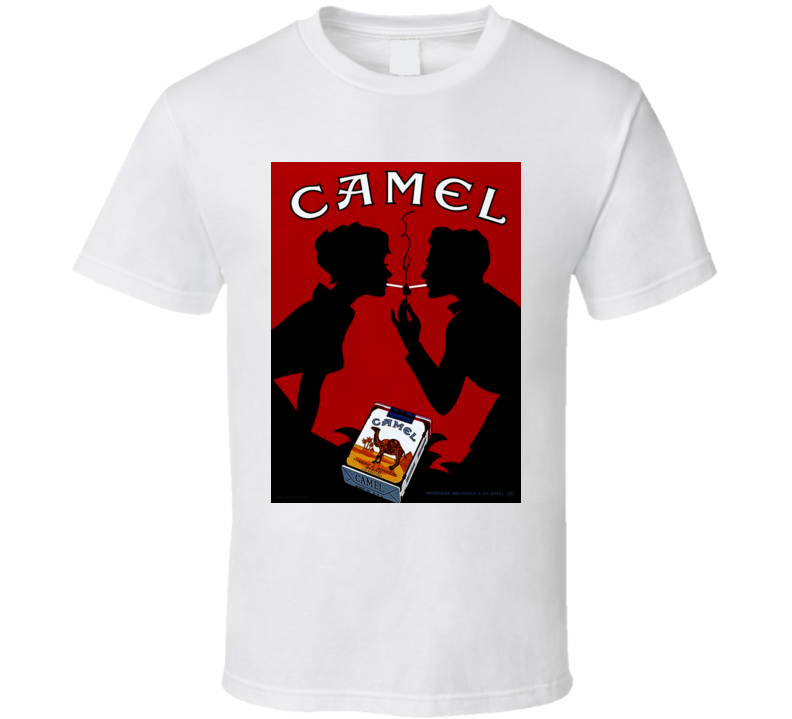 Camel Retro Classic Cigarette Poster Cool T Shirt
