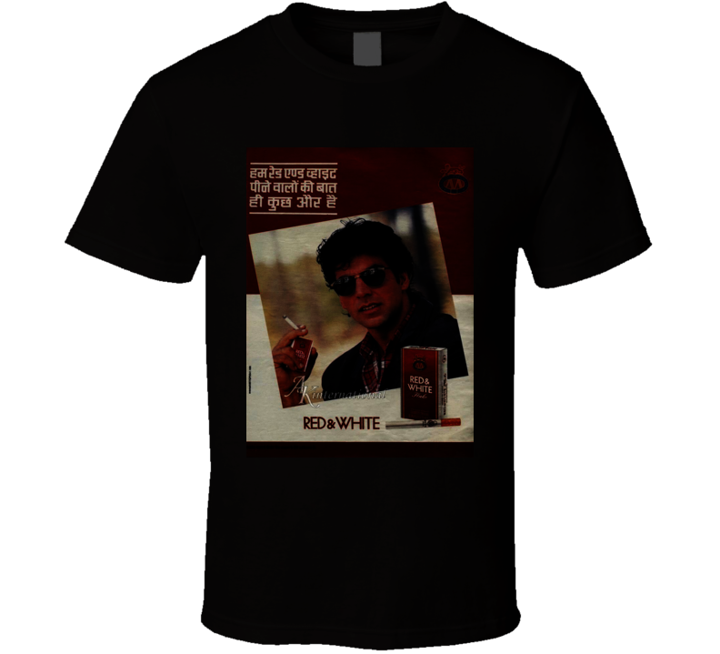 Red And White Classic Cigarette Poster Cool T Shirt