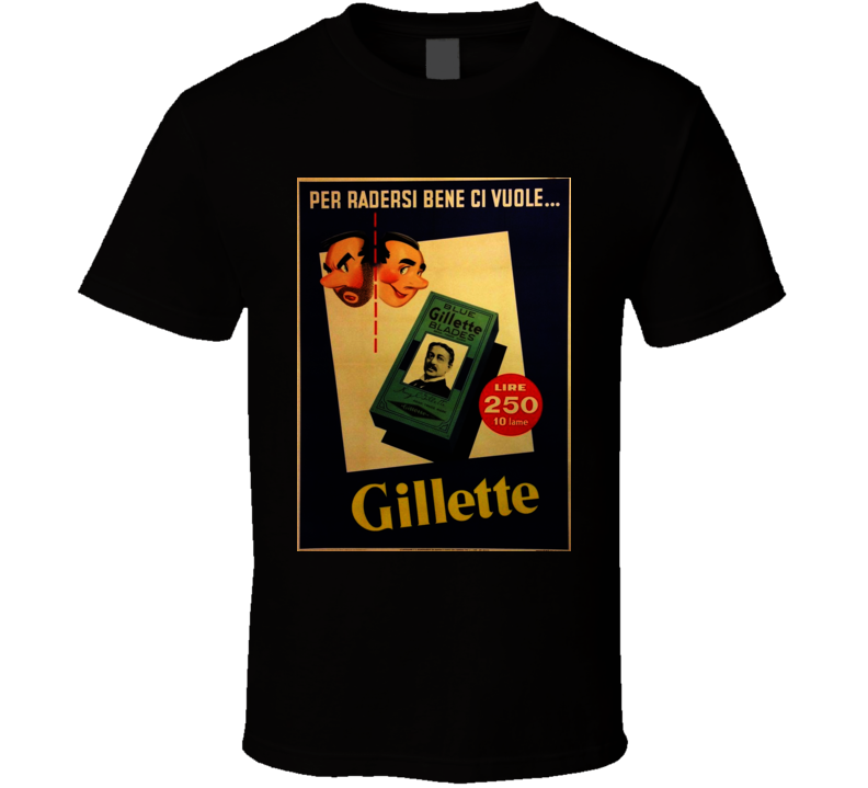 Gillete Classic Cigarette Poster Cool T Shirt