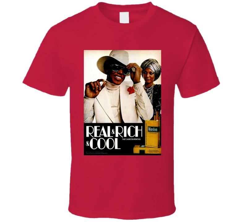Winston Retro Classic Cigarette Poster Cool T Shirt