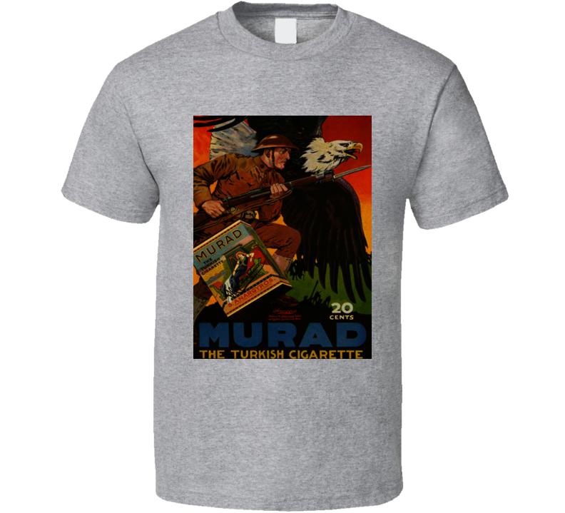 Murad Classic Cigarette Retro Poster Cool T Shirt