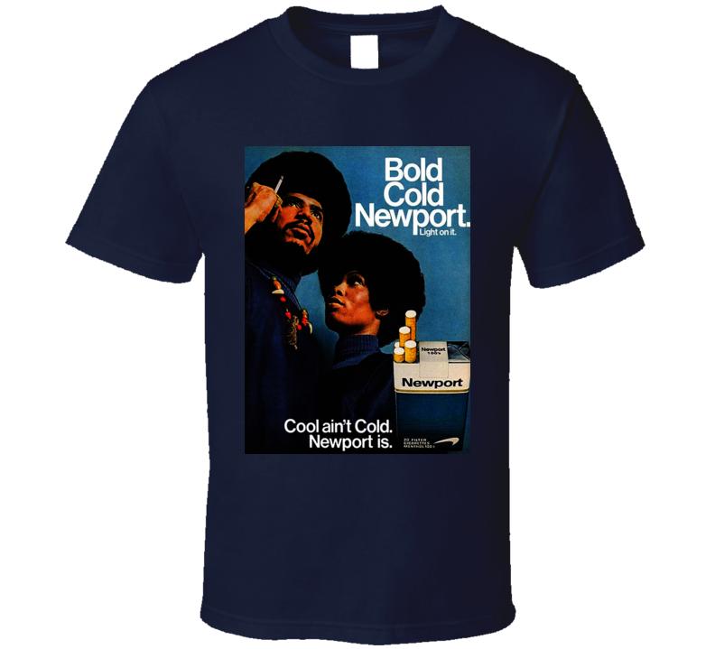 Newport Cigarette Classic Poster Cool T Shirt