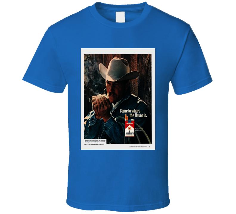 Marlboro Classic Cigarette Poster Cool T Shirt