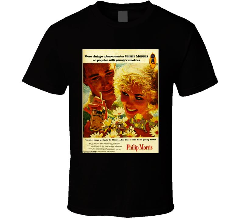 Phillip Morris Cigarette Poster Cool T Shirt