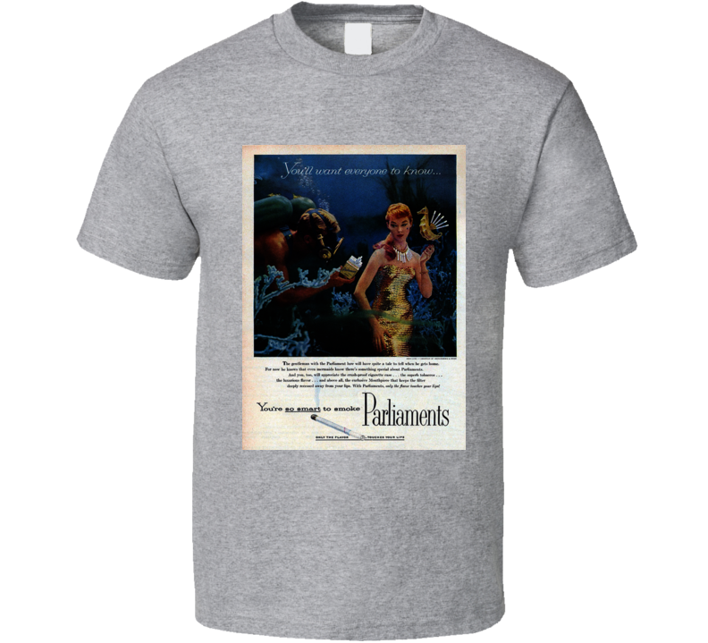 Parliaments Classic Cigarette Poster Cool T Shirt