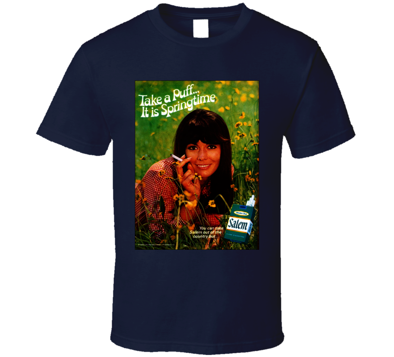 Salem Classic Cigarette Retro Poster Cool T Shirt