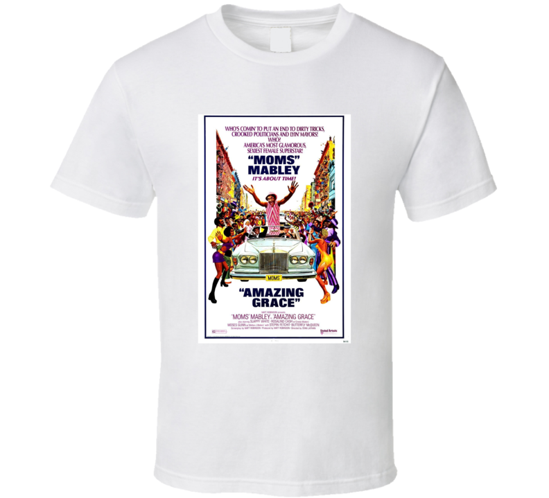 Amazing Grace Retro 1974 Popular Blaxploitation Movie Fan Poster T Shirt