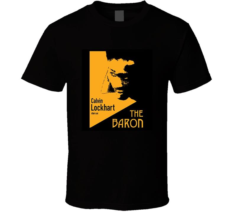 The Baron Retro 1977 Popular Blaxploitation Movie Fan Poster T Shirt