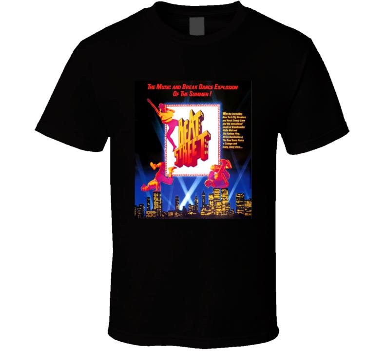 Beat Street Retro 1984 Popular Blaxploitation Movie Fan Poster T Shirt
