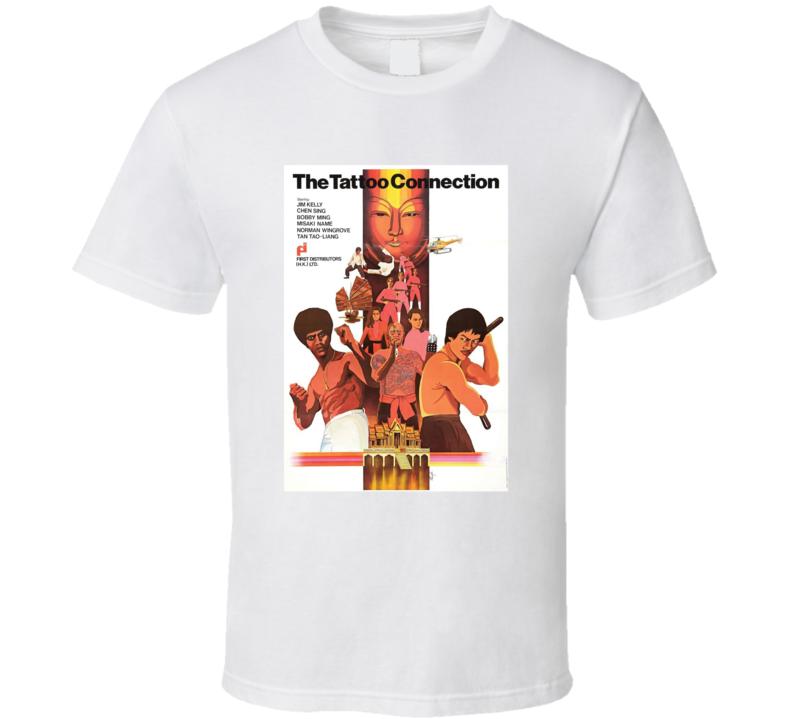 Black Belt Jones 2 The Tattoo Connection Retro 1978 Popular Blaxploitation Movie Fan Poster T Shirt