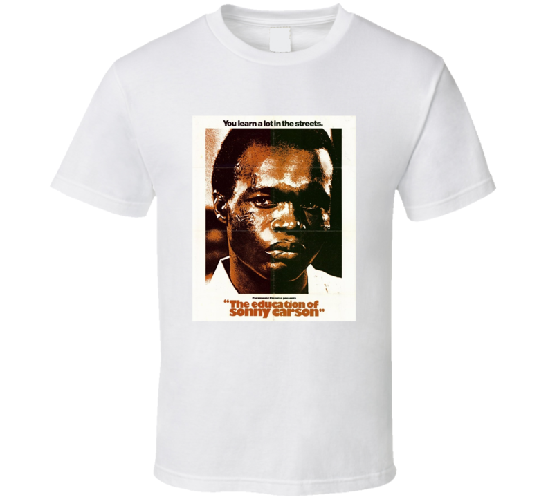 The Education Of Sonny Carson Retro 1974 Popular Blaxploitation Movie Fan T Shirt