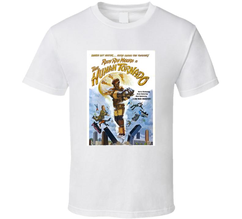 Dolemite 2 The Human Tornado Retro 1976 Popular Blaxploitation Movie Fan T Shirt