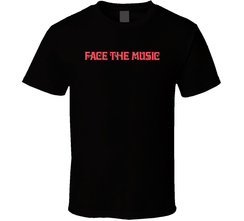 Face The Music Popular 80s Tv Game Show Fan T Shirt