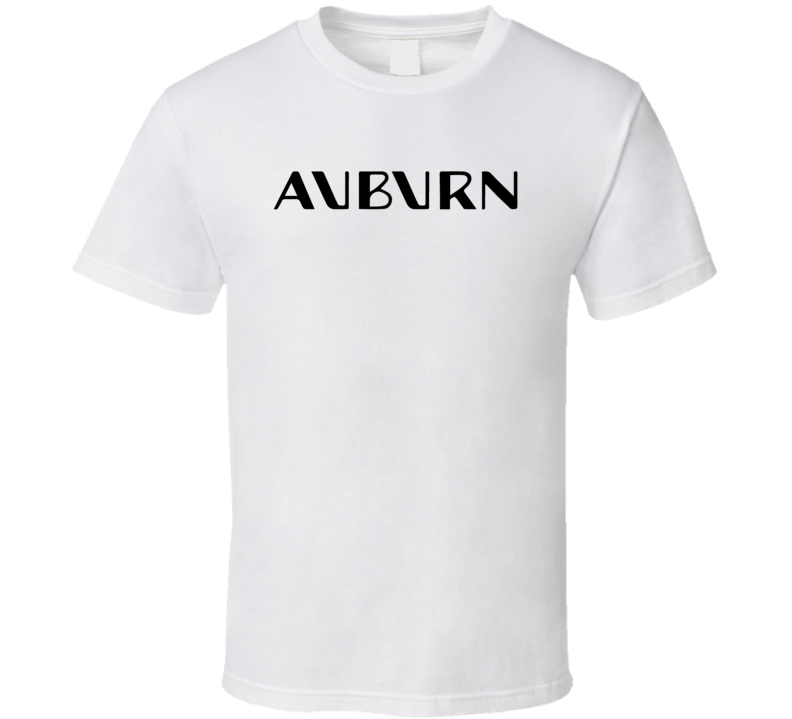 Auburn Automobile Out Of Business Company T Shirt