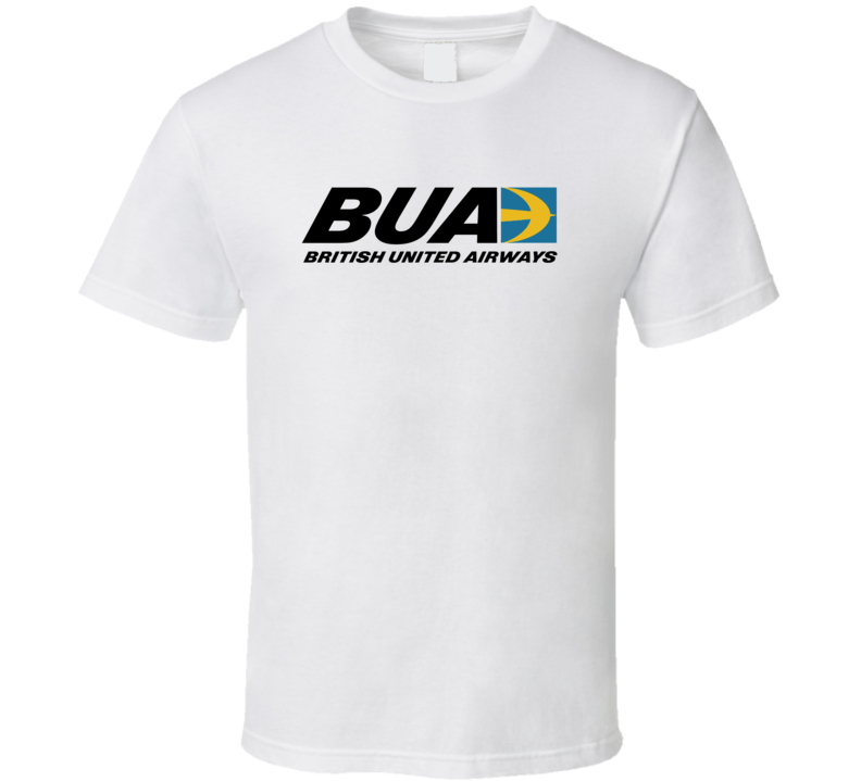 British United Airways Out Of Business Airline Company T Shirt
