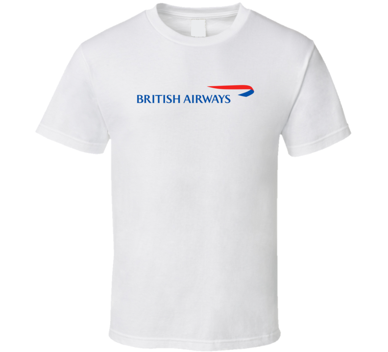 British Airways Out Of Business Airline Company T Shirt