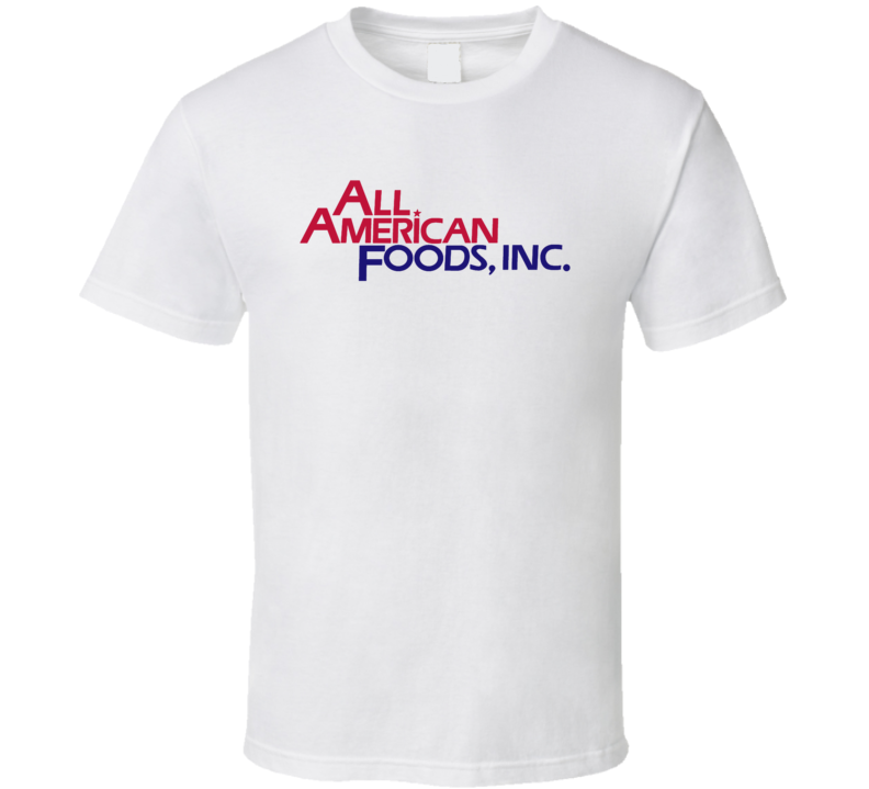 All American Foods Dairy Milk Producer T Shirt