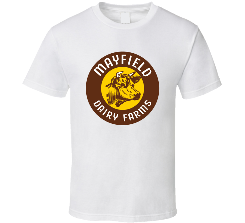 Mayfield Dairy Farms Dairy Milk Producer T Shirt