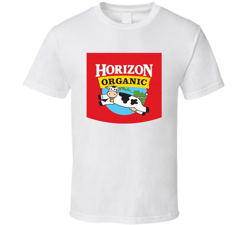 Horizon Organic Dairy Milk Producer T Shirt