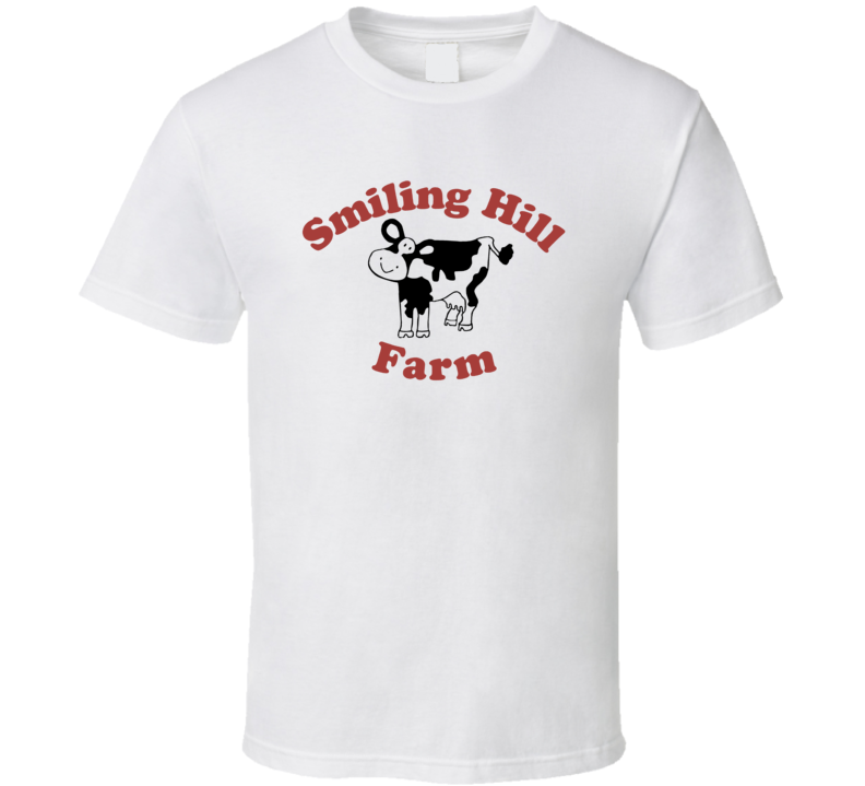 Smiling Hill Farm Dairy Milk Producer T Shirt