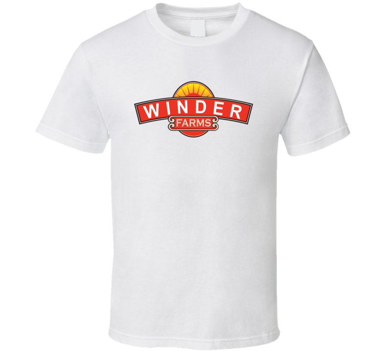 Winder Farms Dairy Milk Producer T Shirt