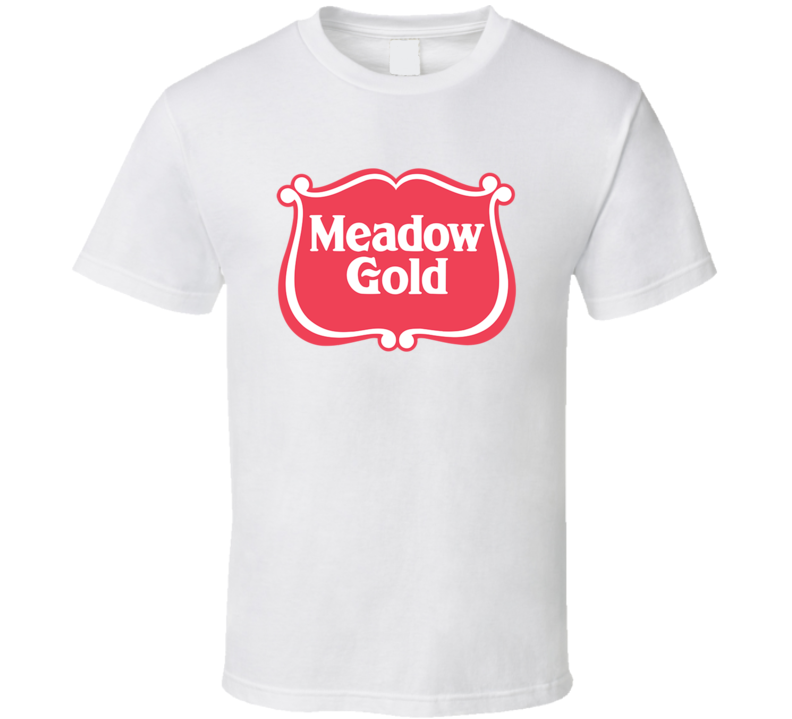 Meadow Gold Dairies Milk Dairy Producer T Shirt
