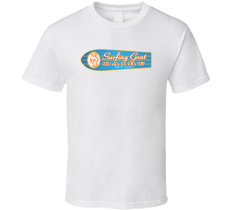 Surfing Goat Dairy Milk Dairy Producer T Shirt