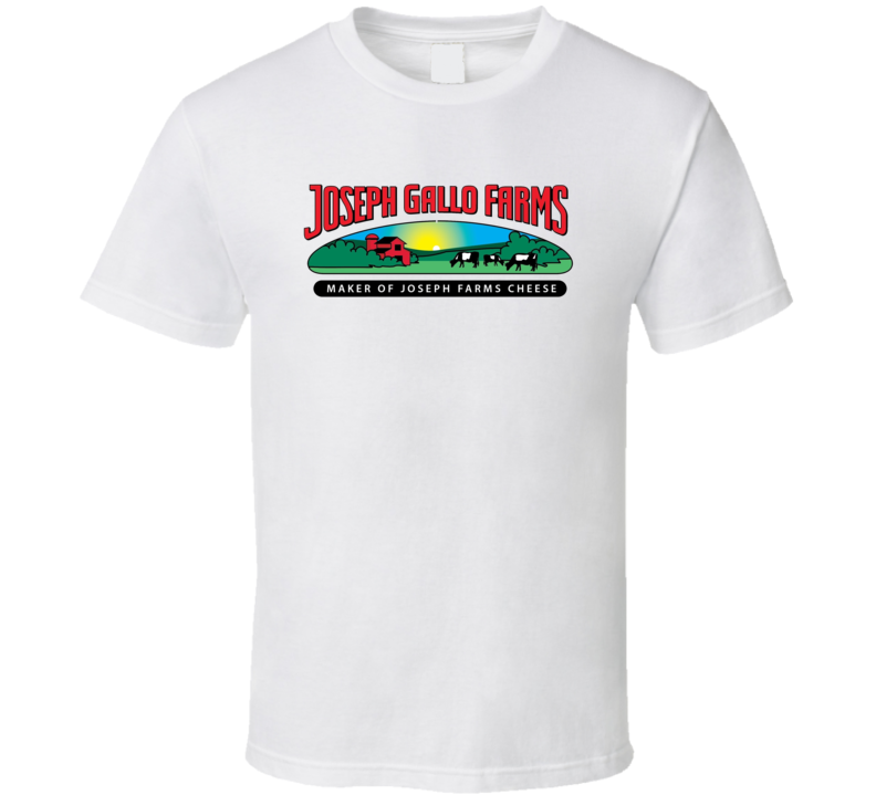 Joseph Gallo Farms Dairy Milk Producer T Shirt