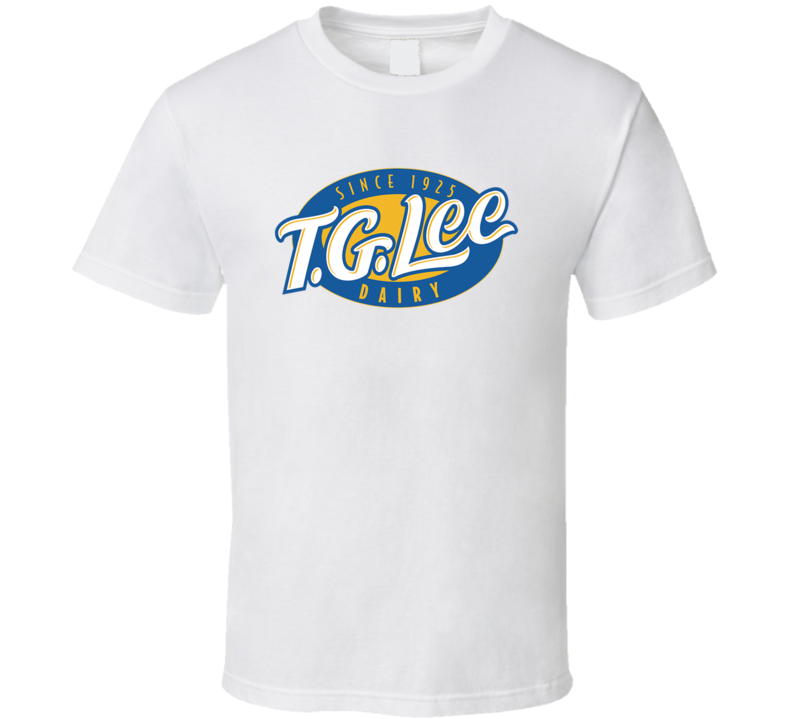 T G Lee Dairy Milk Dairy Producer T Shirt