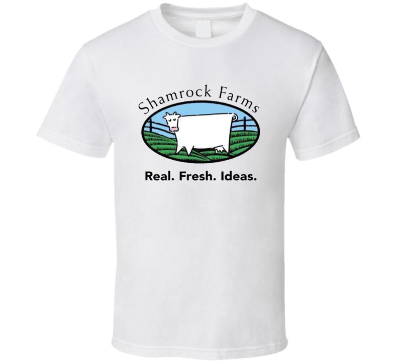 Shamrock Farms Dairy Milk Producer T Shirt
