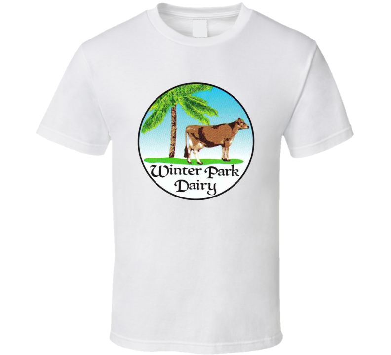 Winter Park Dairy Milk Dairy Producer T Shirt
