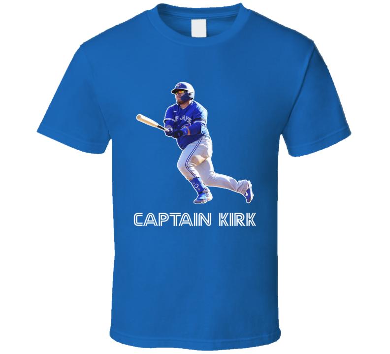Captain Kirk Alejandro Kirk Toronto Baseball Fan T Shirt