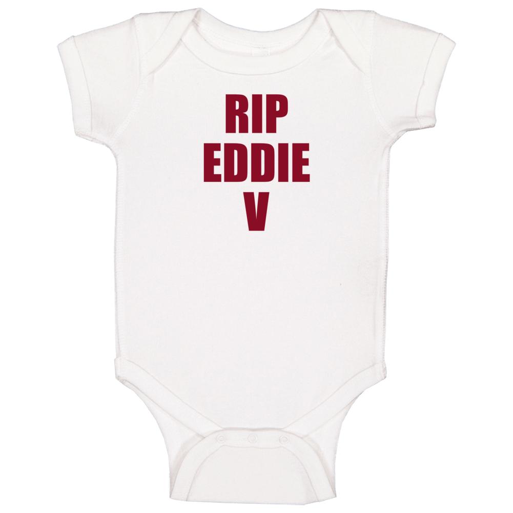 Rip Eddie Van Halen Baby One Piece