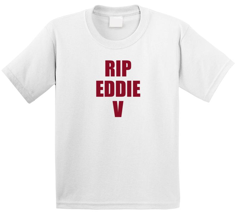 Rip Eddie Van Halen T Shirt